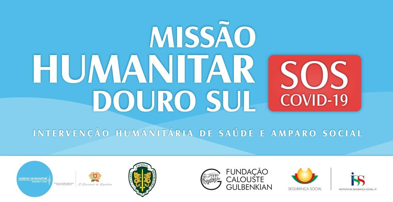 Missão Humanitar Douro Sul SOS COVID-19 ganha força após parceria com a GNR